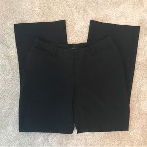 Worthington Curvy Fit Black Slacks - Size 6 Petite